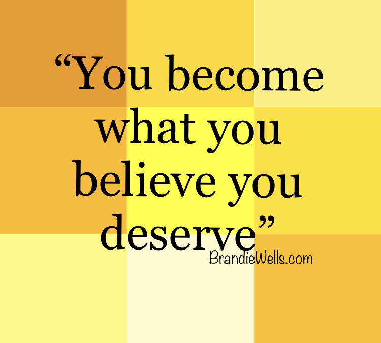 What do you deserve?